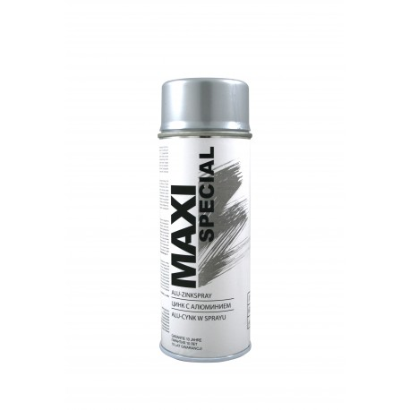 MOTIP SPR.MAXI COLOR ALU-CYNK 400ML MX0031