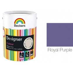 BECKERS DESIGNER COLOUR ROYAL PURPLE 5L