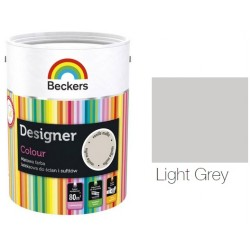 BECKERS DESIGNER COLOUR LIGHT GREY 5L WO