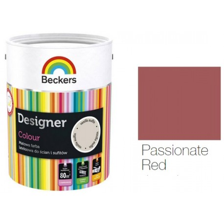 BECKERS DESIGNER COLOUR PASSIO.RED 5