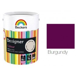 BECKERS DESIGNER COLOUR BURGUNDY 5L