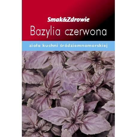 Nasiona Bazylia czerwona Ocimum basilicum citriodora