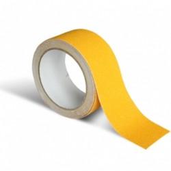 Taśma przeciwpoślizgowa samoprzylepna 10mx50mm żółta