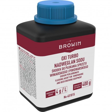 BROWIN OXI TURBO – NADWĘGLAN SODU 400G