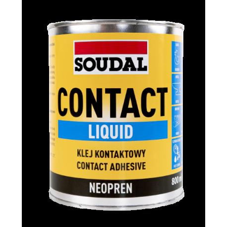 SOUDAL 0,8L CONTACT ADHESIVE LIQUID klej kontaktowy 0,7kg