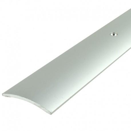 MIDAS Listwa Aspro 40mm ALU srebro 01 dł 0,9m