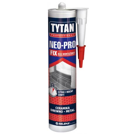 TYTAN PROFESSIONAL NEO-PRO FIX KLEJ MONT AŻOWY 290 ML BEŻOWY PL TYTA