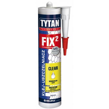 TYTAN PROFESSIONAL FIX2 CLEAR Klej monta żowy 290 ml bezbarwny PL