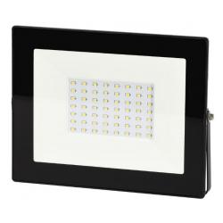 NAŚWIETLACZ LED LAMPA 50W 4000K 4000LM IP65 CZARNY BEMKO