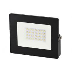 NAŚWIETLACZ LED LAMPA 20W 4000K 1600LM IP65 CZARNY BEMKO