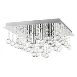 Plafoniera lampa sufitowa Corinna E14 5x40W KWADRAT CHROM