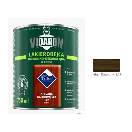 VIDARON Lakb. heban brazyl.L11 2,5L
