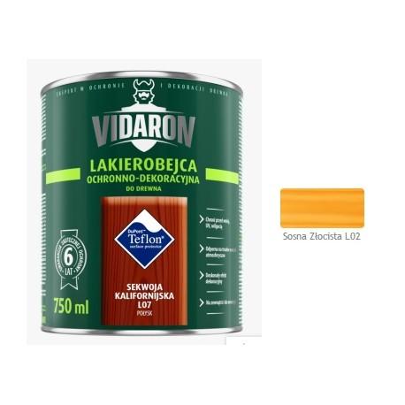 VIDARON Lakb.sosna złocistL02 0,75L