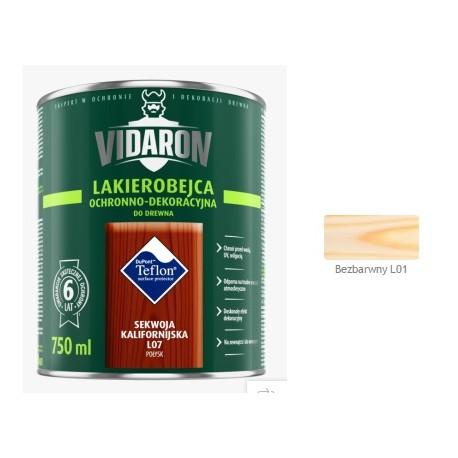 VIDARON Lakb. bezbarwnyL01 0,75L