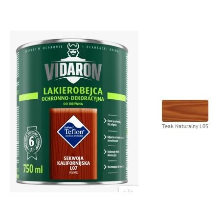 VIDARON Lakb.teak naturalnL05 0,75L