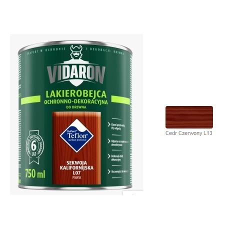 VIDARON Lakb.cedr czerwonyL13 0,75L