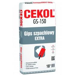 CEKOL GS-150 20KG GIPS SZPACHLOWY EXTRA