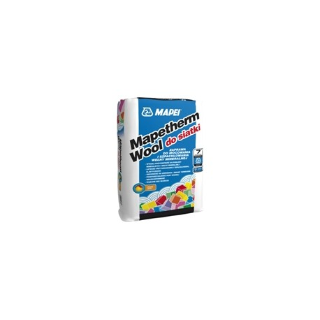 MAPEI MAPETHERM WOOL DO SIATKI 25 KG