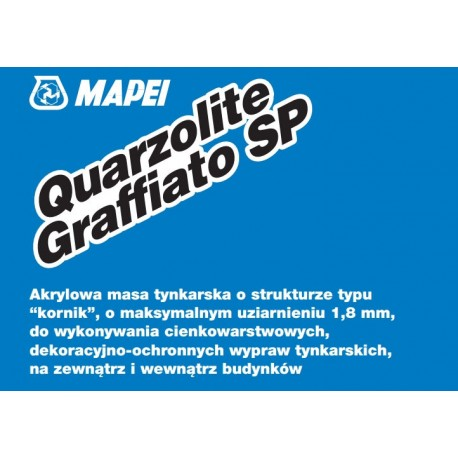 MAPEI QUARZOLITE GRAFF.SP 1,8MM BIA?Y