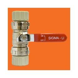 RED Zawór kulowy 25mm ZKM25, system SIGMA-Li
