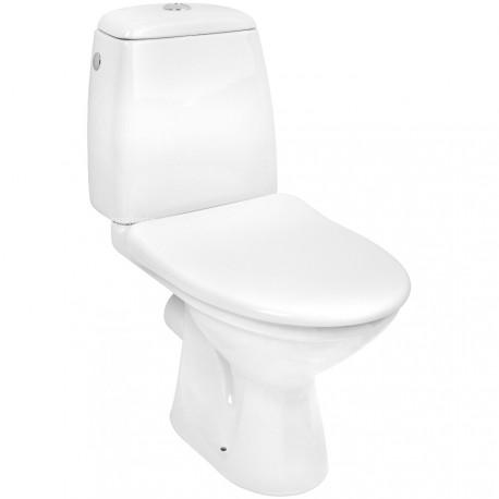 KOŁO SOLO Zestaw WC kompakt, odpływ poz.