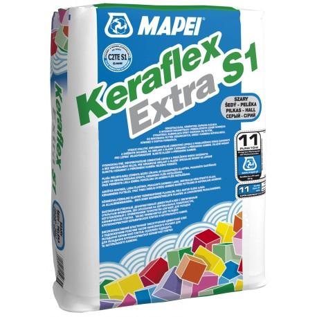 MAPEI KERAFLEX EXTRA S1 GREY OP. 25 K