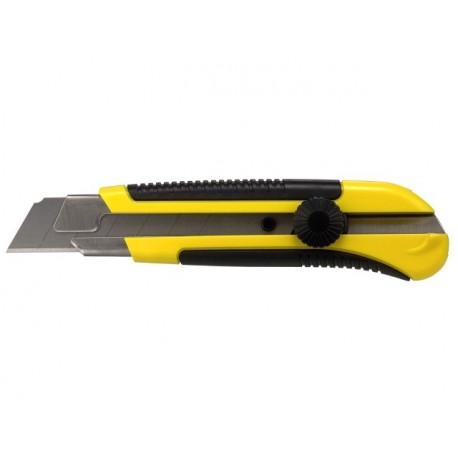 STANLEY Nóż z ostrzem łamanym 25 mm, met