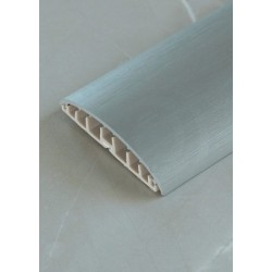 MIDAS Listwa maskująca volta 74mm x 1m PVC metalic