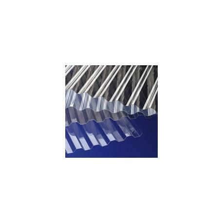 GUTTA Płyta PVC SINUS 200x90 przezroczys