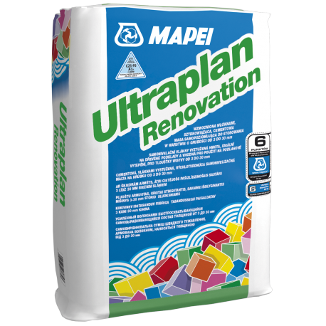 MAPEI ZAP.SAM.ULTRAPLAN RENOVATION 23 KG SAMPOZIOM 3-30MM SZYBKOSCHNĄCA