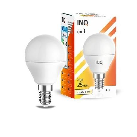 INQ LAMPA P45 E14 LED 3 KULKA 249LM 3000K INQ