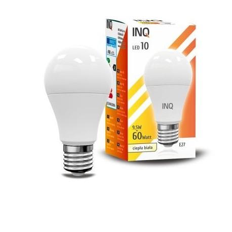INQ LAMPA A60 E27 LED 10 BULB 8061M 3000 K