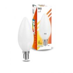 INQ LAMPA ŻARÓWKA E14 LED 7 ŚWIECZKA 470LM 3000K LB030WW