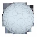 Lampa sufitowa Plafoniera Ada E27 60W 250MM biały RABALUX 1843