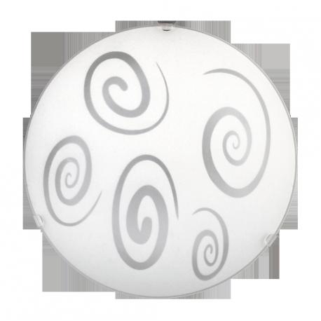 RABALUX 1822 Plafoniera Spiral E27 1x60 IP20 250 | mm