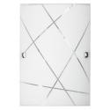 Kinkiet Phaedra, E27, 1x 60W, biały, RABALUX 3697