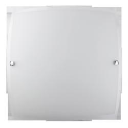 Plafoniera Nedda, E27, 1x 60W, chrom-satyna, 300x300mm, RABALUX 3688