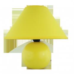Lampka ceramiczna Ariel, E14, 1x 40W, żółta, RABALUX 4905