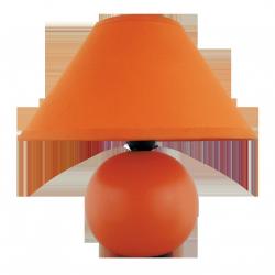 Lampka ceramiczna Ariel, E14, 1x 40W, pomarańczowa, RABALUX 4904