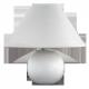 RABALUX 4901 Lampka ceramiczna Ariel E14 /40W bia | ła