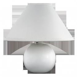 Lampka ceramiczna Ariel, E14, 1x 40W, biała, RABALUX 4901