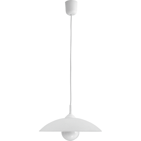 RABALUX 4615 Lampa wisząca Cupola range D30 bia | ła E27/1x60W