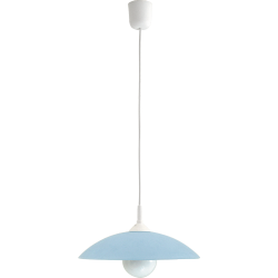 Lampa wisząca Cupola range, D30, niebieska, E27, 1x 60W, RABALUX 4612
