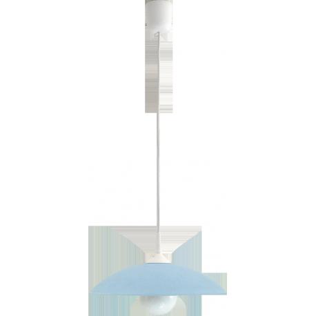 RABALUX 4612 Lampa wisząca Cupola range D30 nieb | ieska E27/1x60W