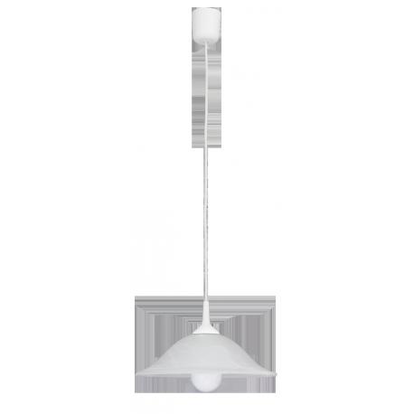 RABALUX 3905 Lampa wisząca Alabastro D3 0 E27/1x | 60W biała