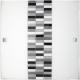 RABALUX 3932 Plafon Domino E27/1x60W cza rno-biał | -szary