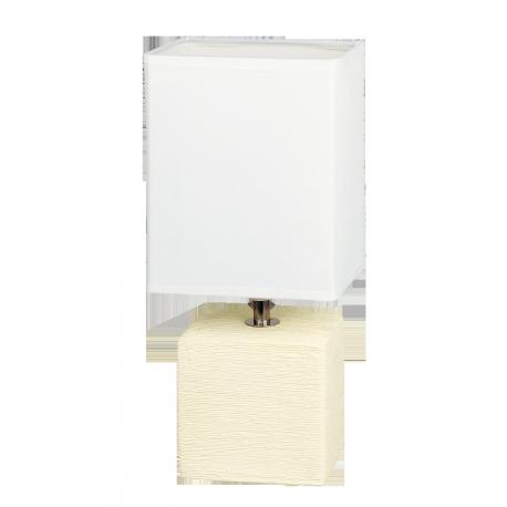 RABALUX 4929 Lampka stołowa Orlando E14/ 1x40W be | ż