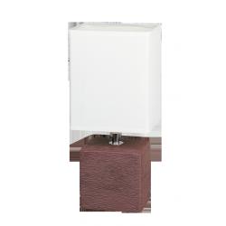Lampka stołowa Orlando, E14, 1x 40W, brąz, RABALUX 4928
