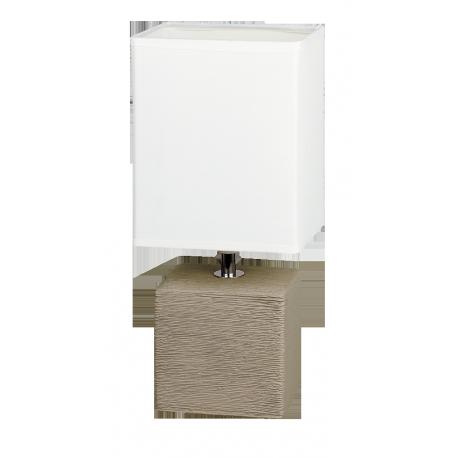 RABALUX 4930 Lampka stołowa Orlando E14/ 1x40W sz | ary