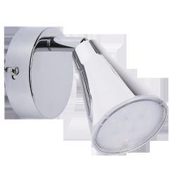 Kinkiet Spot Fiona, 22 LED, 5W, IP20, chrom, RABALUX 6457